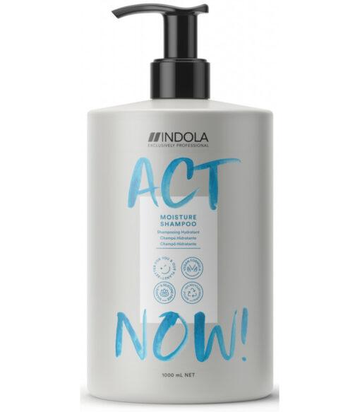 Indola act now moisture shampoo 1000ml